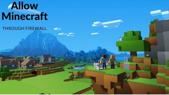 Allow Minecraft Through Firewall