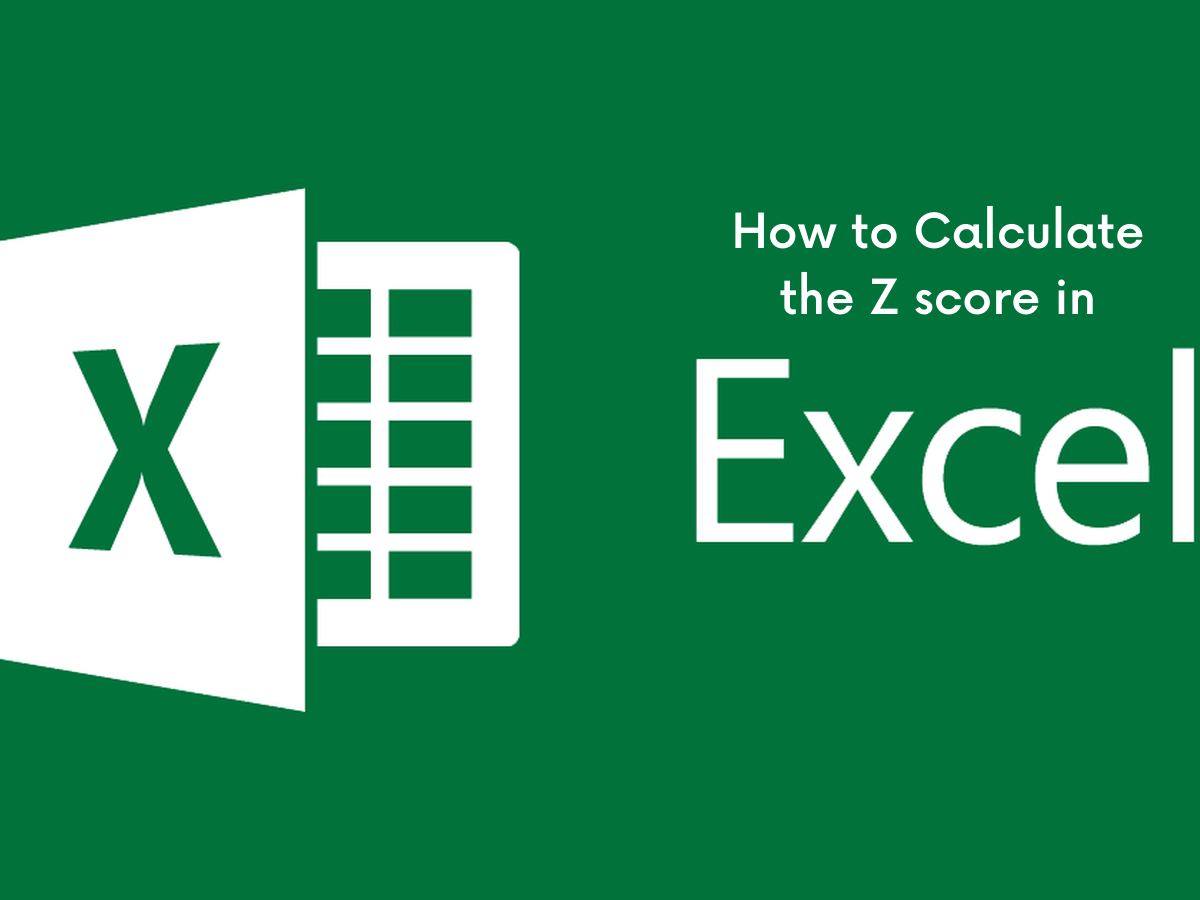 How to Calculate the Z score in