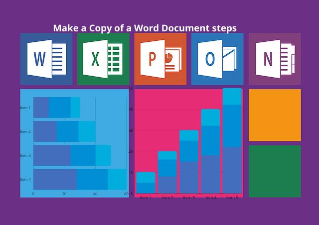 Make a Copy of a Word Document steps