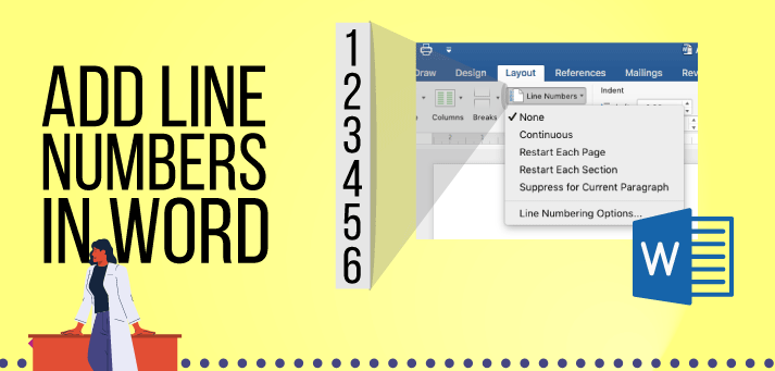 Add Line Numbers in Word