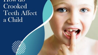 How do crooked teeth affect a child?