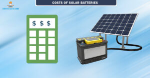 Solar panel battery for Home and offices