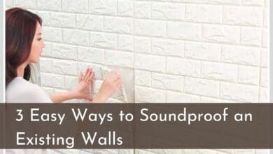 3 Easy Ways to Soundproof an Existing Walls